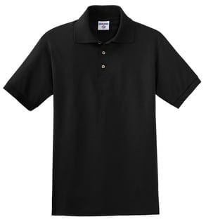 Custom Black Polo