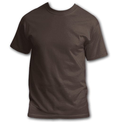 brown-plus-size-custom-t-shirt