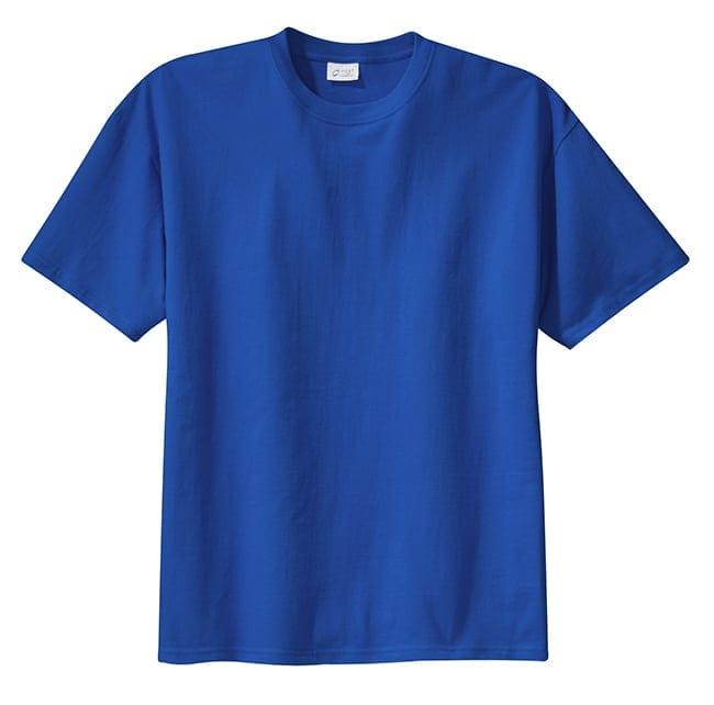 Royal Blue Plus Size Shirt