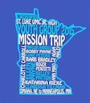 graphic design mission trip shirt