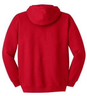 Red Hoodie Back