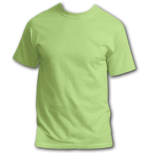 lime-plus-size-custom-t-shirt
