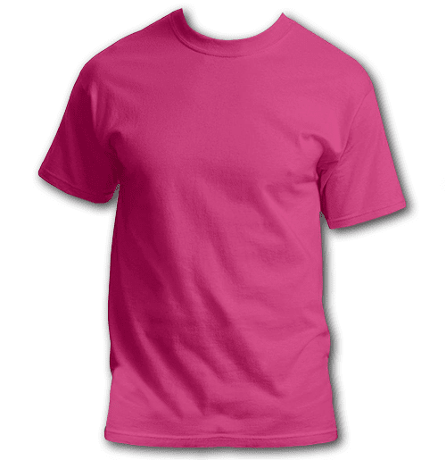 pink-plus-size-custom-t-shirt