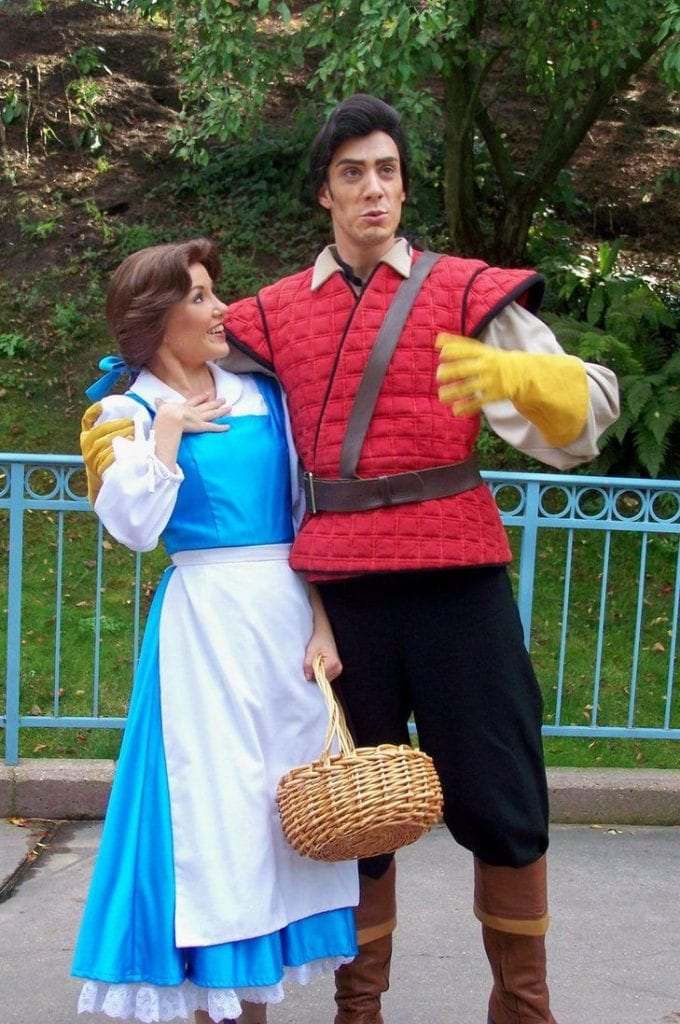 Gaston and Belle Halloween Costumes