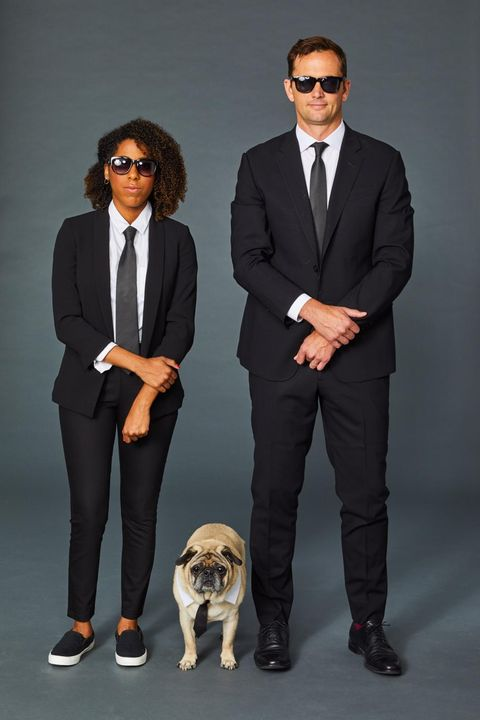 Men in Black Halloween Costume Couples' Halloween Costume Ideas